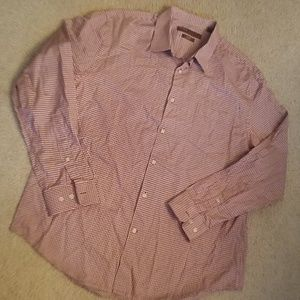 Perry Ellis city fit shirt